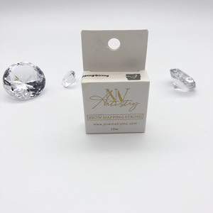 White Pre-Inked Brow Mapping String (3)
